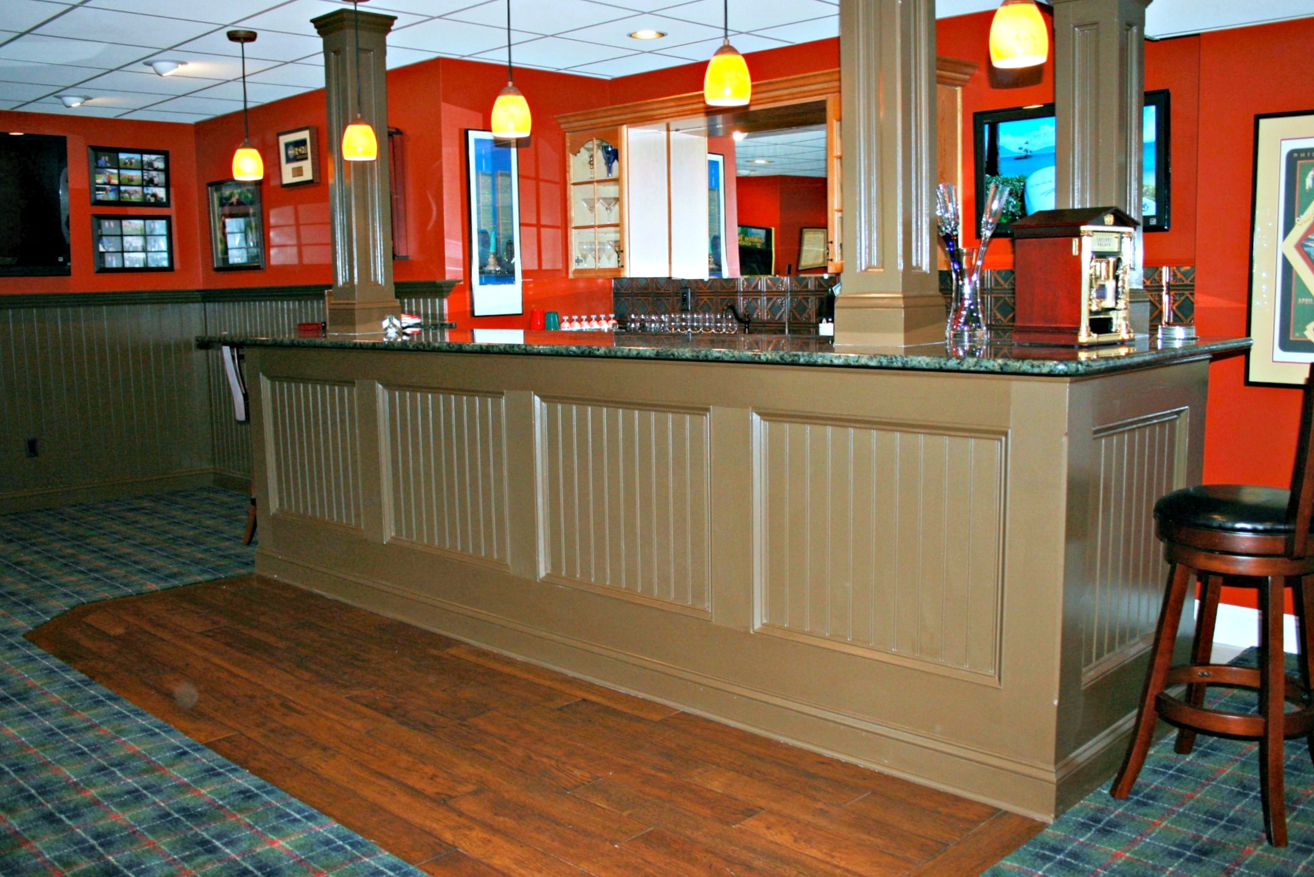 Basement Bars Are Designed And Built By Deacon Home
