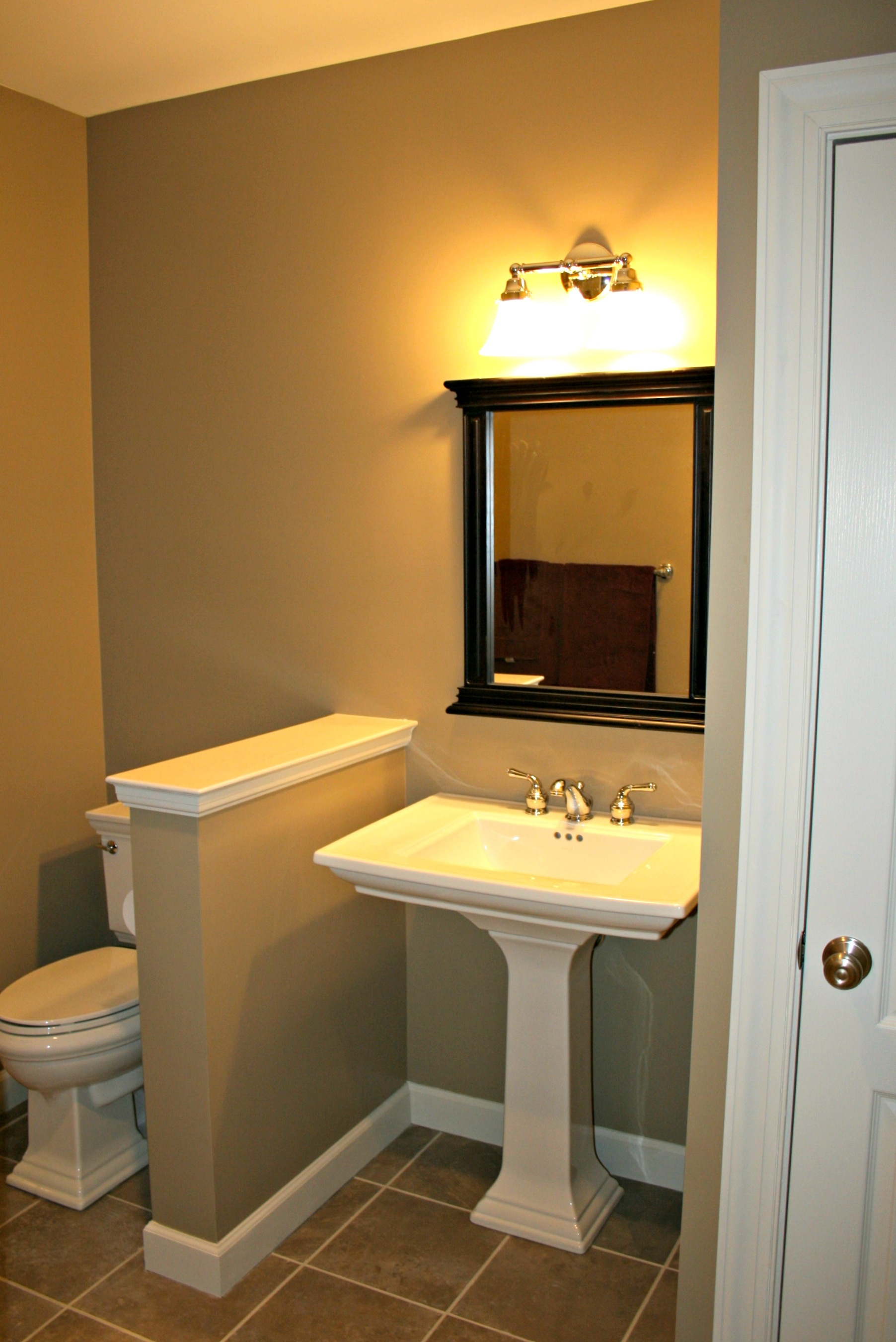 Photo gallery of projects by deacon home enhancement for Finished bathroom ideas