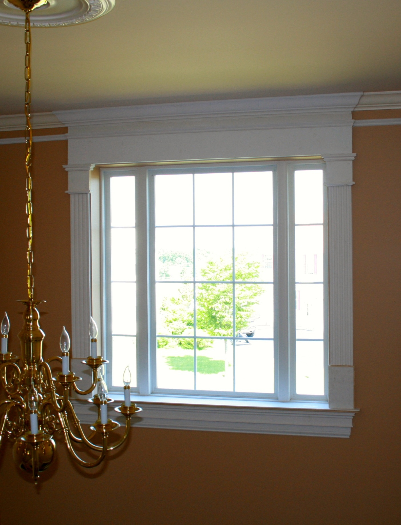 Door casing and window trim installation by deacon home for The door and the window