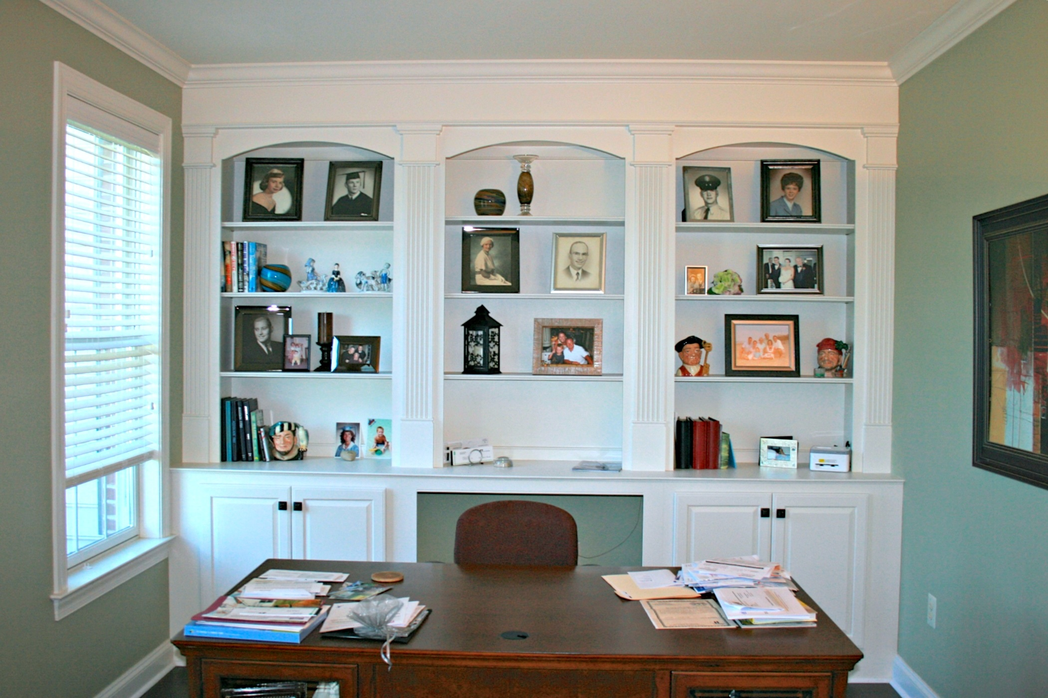 Photos of Home Offices that Jeff has designed and built are an installed by Deacon Enhancement