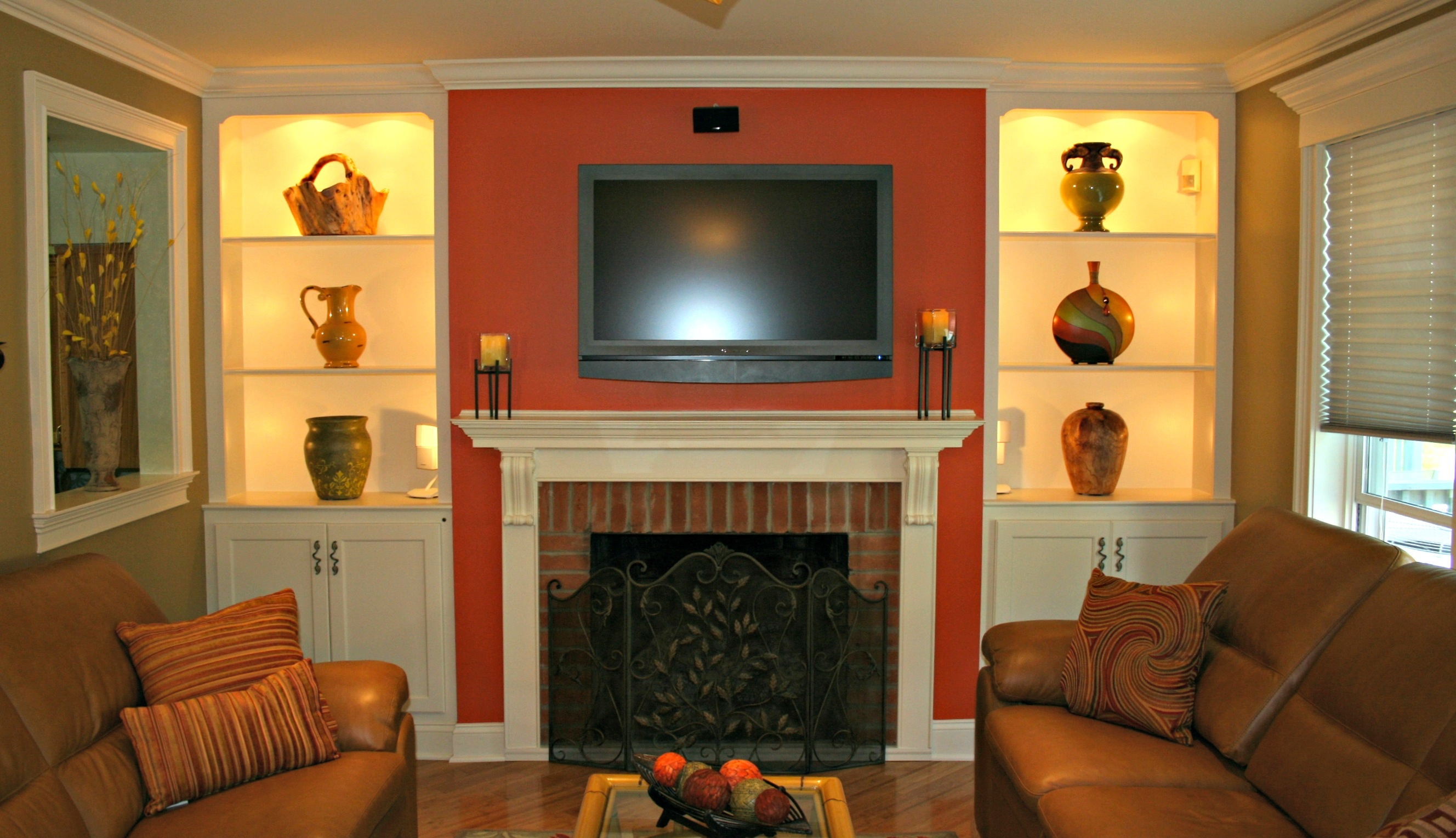 TV Media Cabinets built by Deacon Home Enhancement