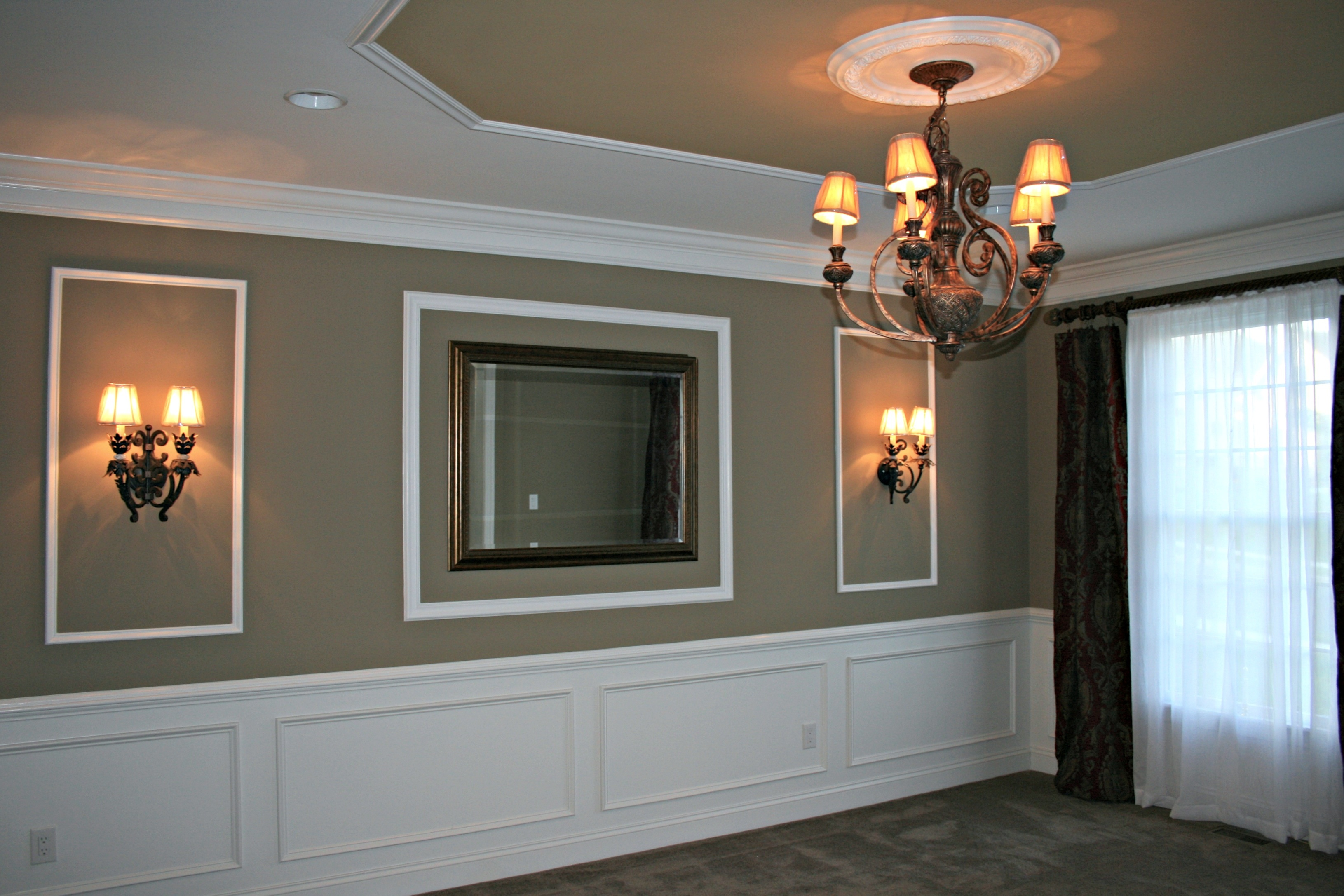 Wainscoting Installation By Deacon Home Enhancement