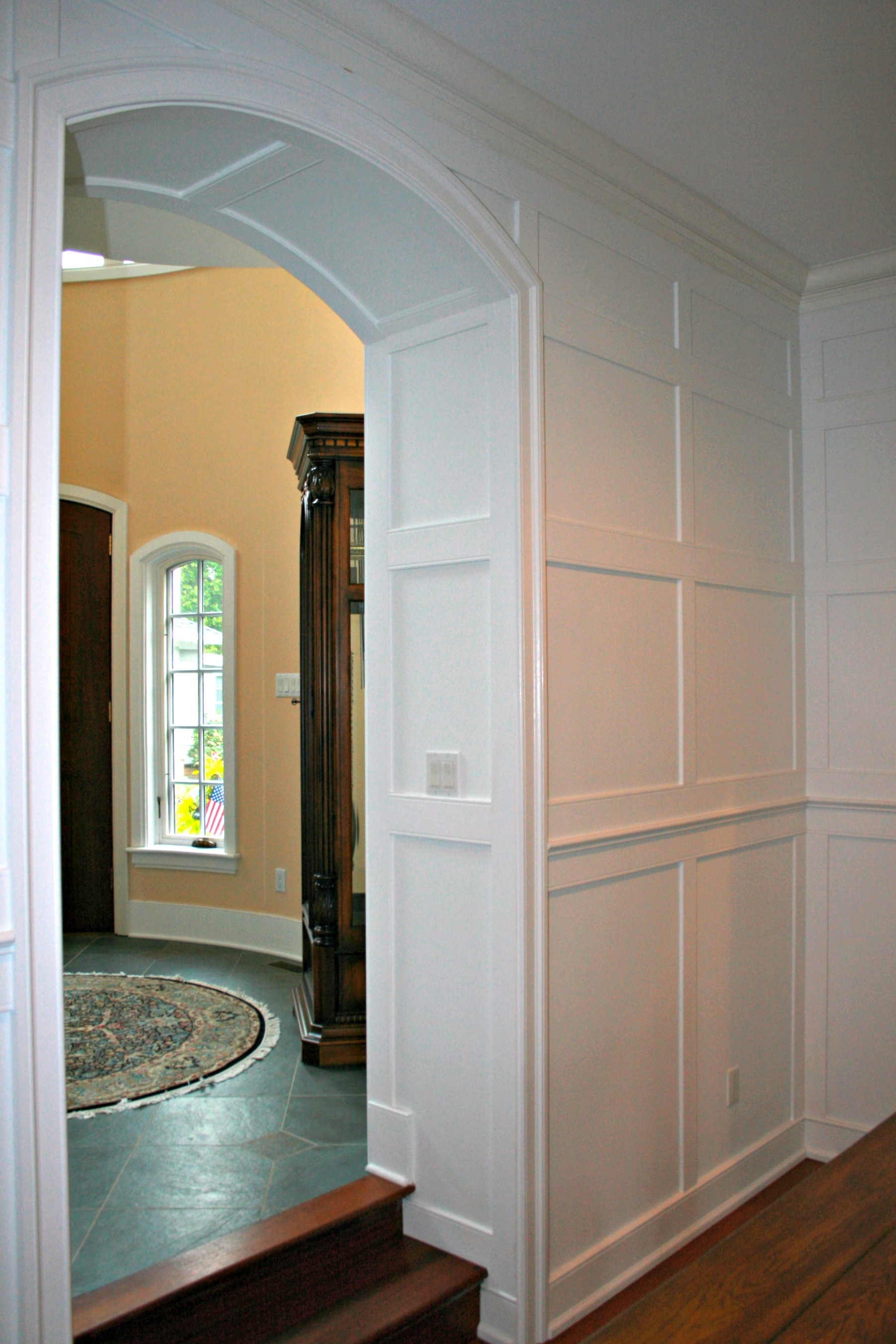 Door casing and window trim installation by deacon home enhancement - Wainscoting Installation By Deacon Home Enhancement