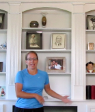 Stacy hired Jeff Deacon to install cabinetry in her office in her home